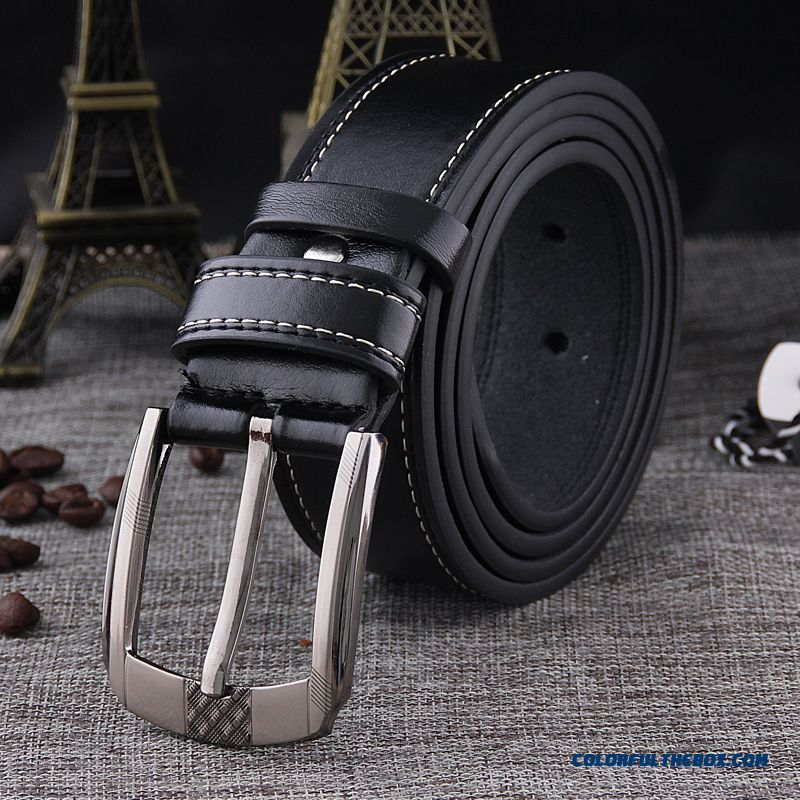 Smooth Leisure Waistband Soft Surface Pin Buckle Low Price Good Quality Of Men's Blets