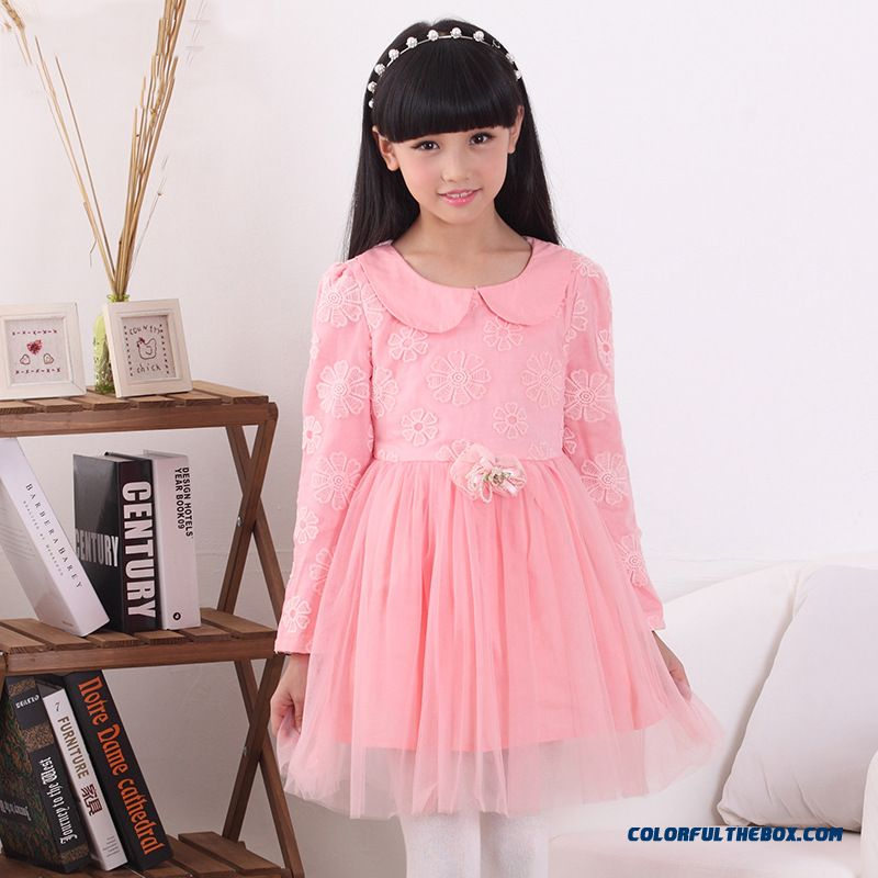 f2f11b6d709 ... Solid Color Summer Cute Girls Dress Special Offer Kids Clothing - more  images 2 ...