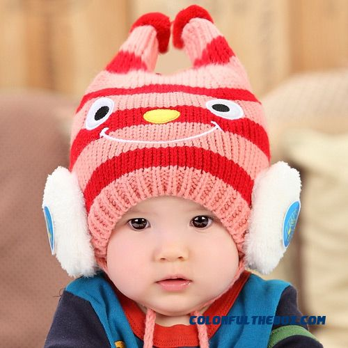 69ce2f5d698 ... Hats Accessories For Girls.  22.00 9.00. South Korea s Small Bee Plus  Velvet Thick Wool Cap Infant Kids Pull Head Cap Special For