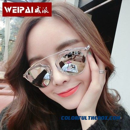 Special Asle For Women Round Face Dark Glasses Women Big Framed Uv Mode Sunglasses