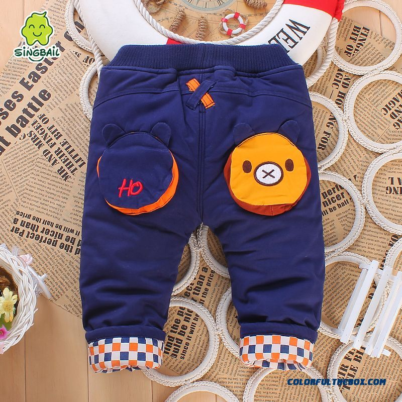 Special Clearance Free Shipping Kids Clothing Baby Thickened Keep Warm Long Pants
