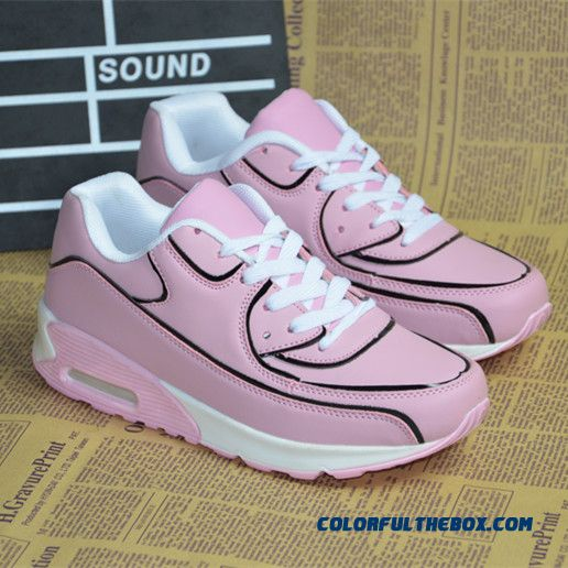 Special Offer Autumn And Winter Pink Air Cushion Women Casual Shoes