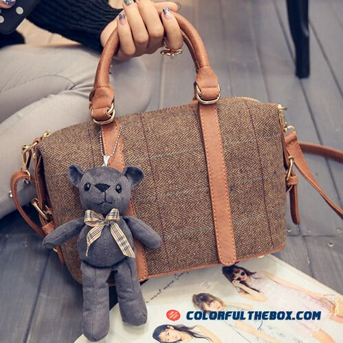 Special Offer For Women Bags European Boston Style Houlder Bags Fashion Chic