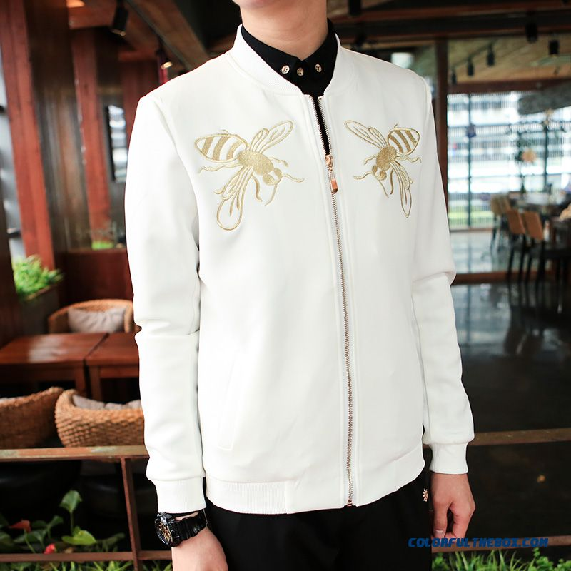 Special Offer Free Shipping Autumn Men Baseball Uniform Jacket Coat Personality - more images 2