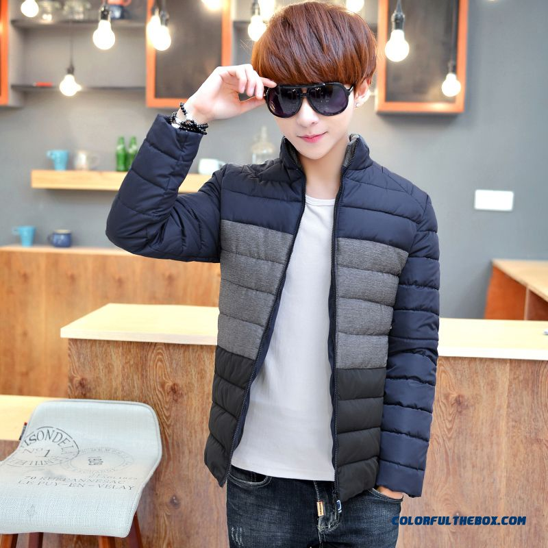 Special Offer Free Shipping Men Boy Hooded Coats Grey Blue Vogue Top Sale