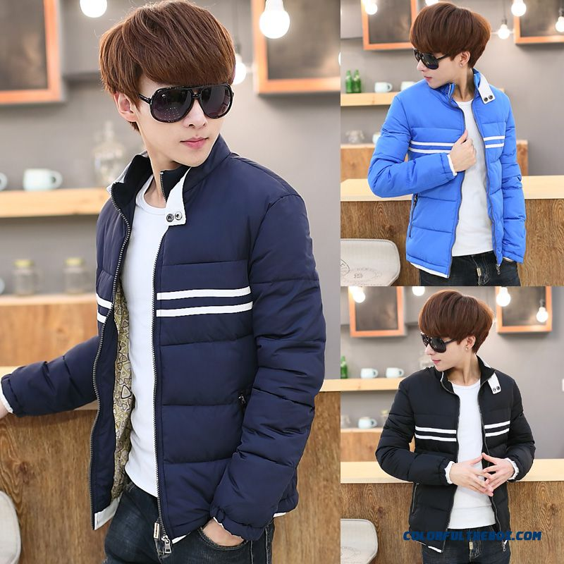 Special Offer Free Shipping Men Boy Mode Blue Black Winter Top Sale