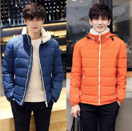 Special Offer Free Shipping Men Duck Padding Slim Down Coat Down Jacket Youth