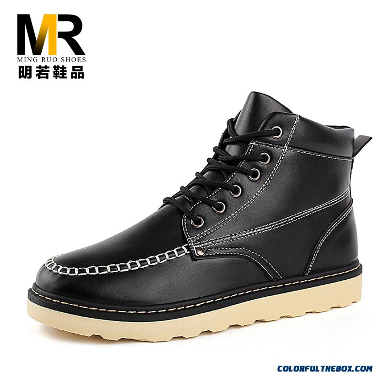 Special Offer High Quality Men Boots Fashion Shoes Free Shipping