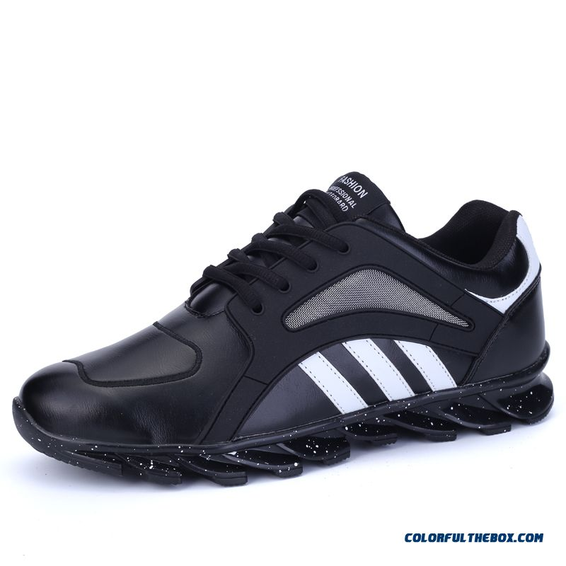 Special Offer Men Breathable And Comfortable Running Shoes Spell Color