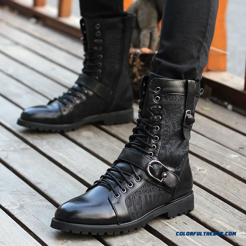 Special Offer Men's Martin Boots Fashion Korean Version Of The Trend