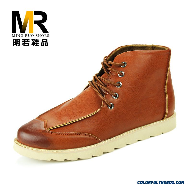 Special Offer New Winter Casual Men Boots Free Shipping