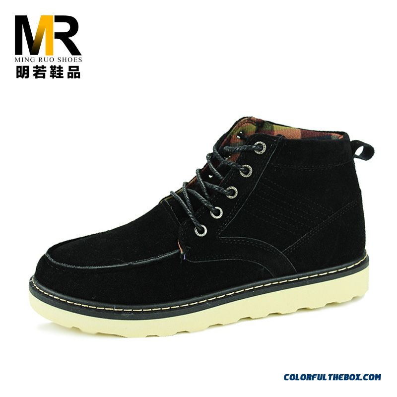 Special Offer Winter Nubuck Boots Casual Comfortable Tide Shoes