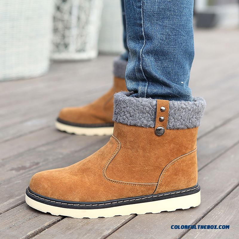 Special Offer Winter Warm Men Snow Boots Fashion Free Shipping - more images 1