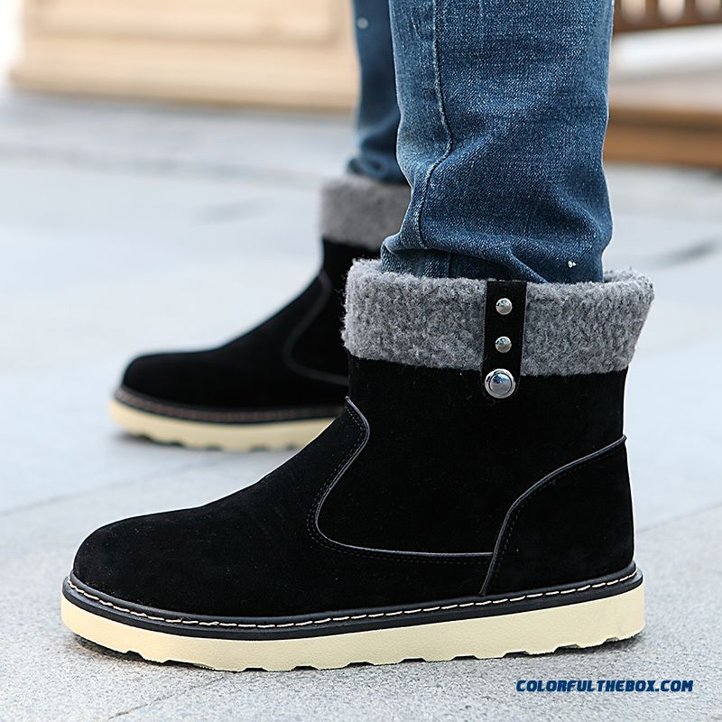 Special Offer Winter Warm Men Snow Boots Fashion Free Shipping - more images 3