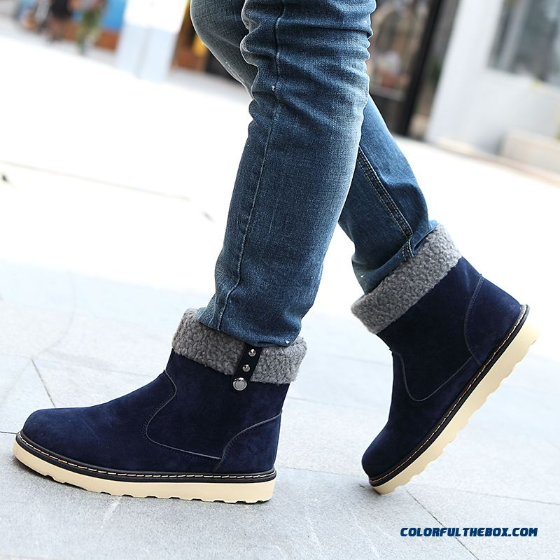 Special Offer Winter Warm Men Snow Boots Fashion Free Shipping - more images 4