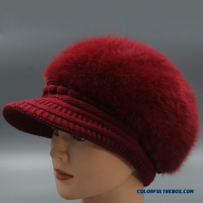Specially Designed For The Elderly Fashion Double Warm Hat Women's Accessories Free Shipping