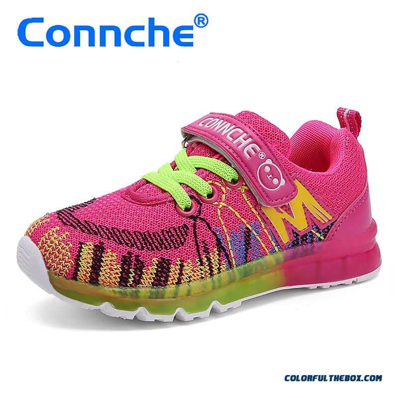Spring Boys Breathable Shoes Cheap Girls Kids Summer Good Quality Comforable Running Shoes