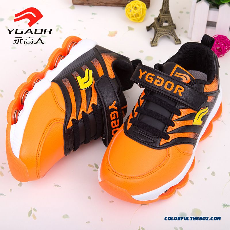 Spring New Light Emitting Vogue Boys Kids Basketballl Shoes Free Shipping