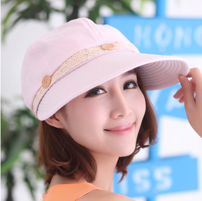 Summer Accessories Beach Shading Straw Hat Bow Women Black And White Striped Summer Tourism Cap
