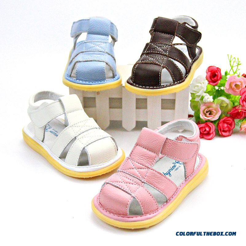Summer Fashion Girls Leather Sandals Kids Flexible And Convenient Toddler Shoes