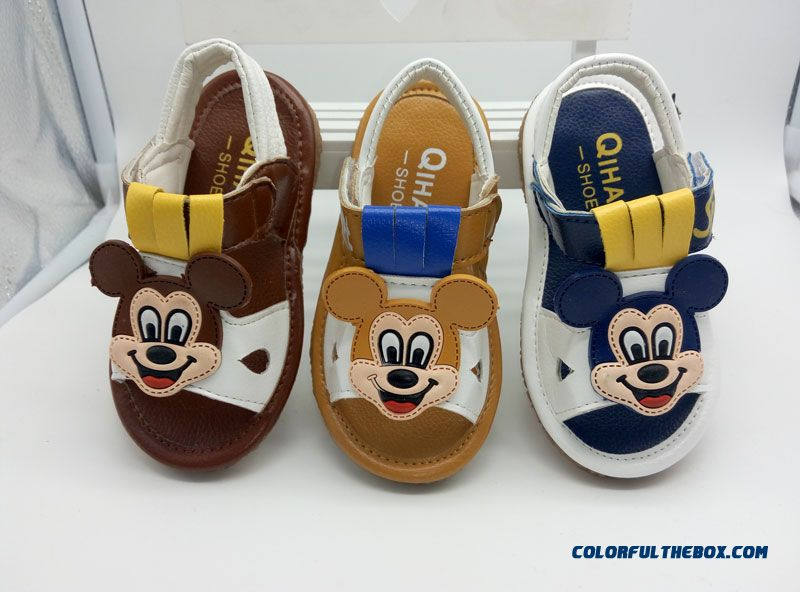 24114fabd3fe7 Summer Infant Children s Kids Shoes Sandals 1-3 Years Old Shoes For Boys