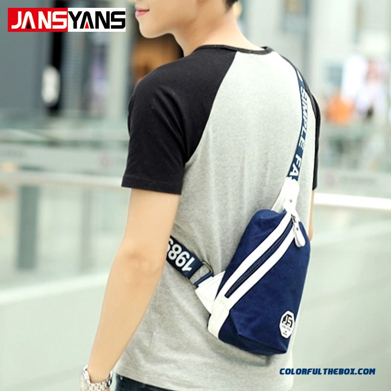 Summer New Men Chest Bag Cycling Crossbody Bag Free Shipping