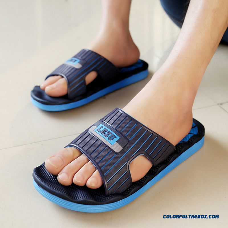 Summer New Wear Resistant Non-slip Slippers Home Shoes For Men