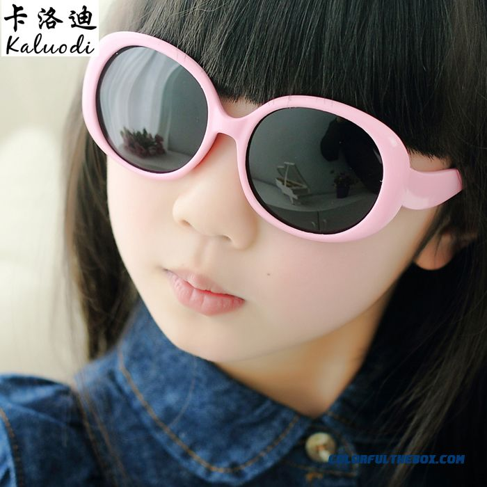 Sunglasses Boys Dark Glasses Polarized Sunglasses Girl Kids Goggles Uv Protection Ultra-soft Materials Kids Accessories
