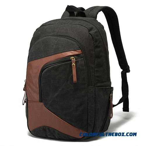 Svnexe Genuine New Shoulder Bag Men's Backpack High School Students Schoolbag Laptop Bag