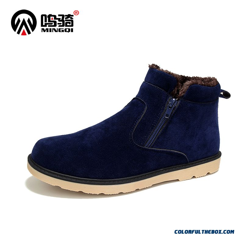 The Latest New Winter Snow Boots Plus Velvet Vogue Men's Casual Shoes