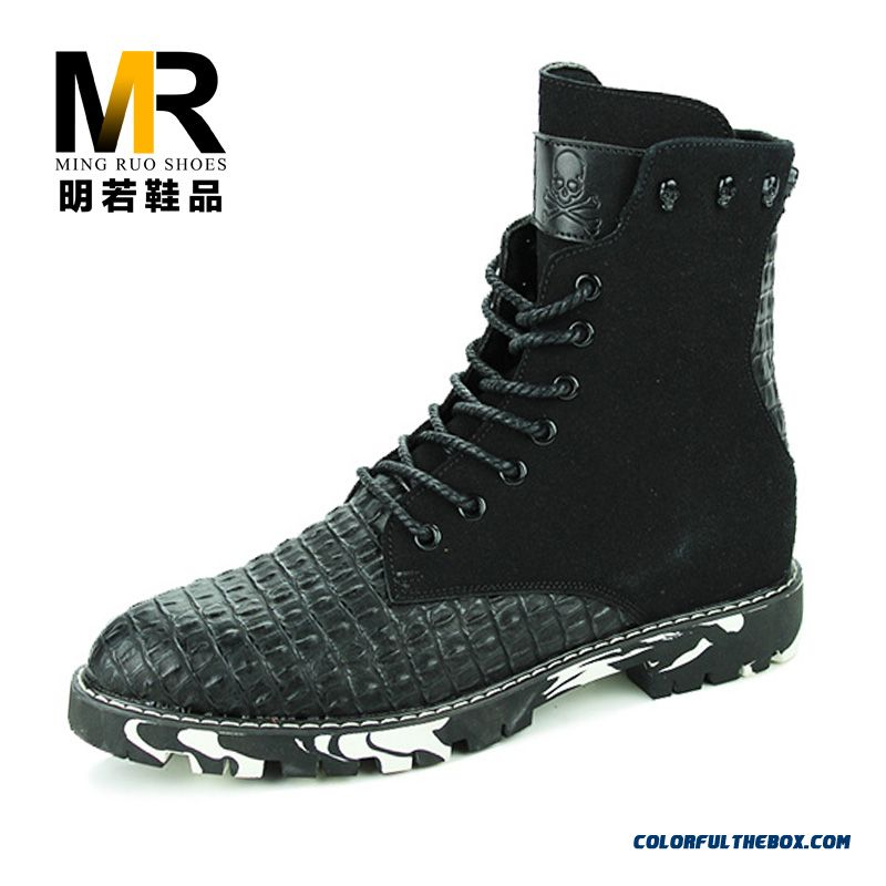 The Latest Popular Men Casual Boots Warm Short Skid-resistant Shoes