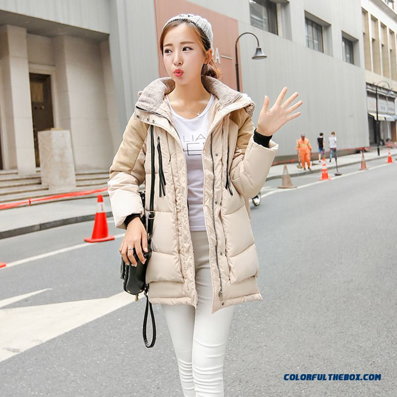 The Newest Style Fashionable Women Hooded Coat Thick Warm Lamb's Wool Jacket - more images 1