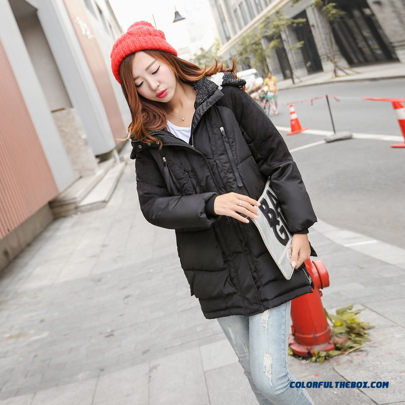 The Newest Style Fashionable Women Hooded Coat Thick Warm Lamb's Wool Jacket - more images 2
