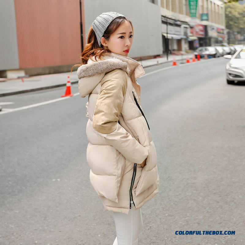 The Newest Style Fashionable Women Hooded Coat Thick Warm Lamb's Wool Jacket - more images 3