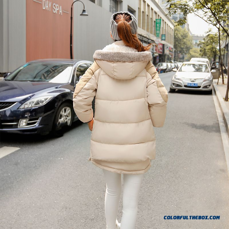 The Newest Style Fashionable Women Hooded Coat Thick Warm Lamb's Wool Jacket - more images 4