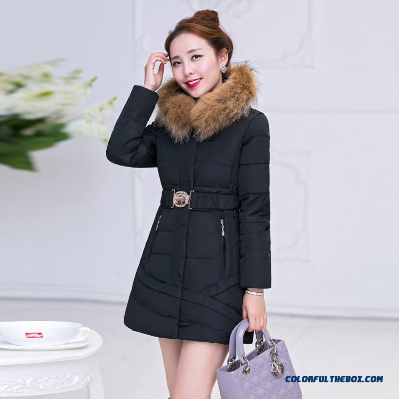 The Newest Style Fashionable Women Jackets Plus Size Thicken Vo Collar Coats