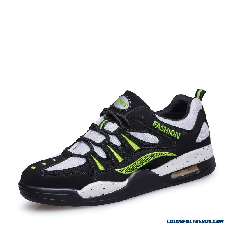 The Trend Of Air Cushion Mesh Outwear Comfortable Men's Running Shoes