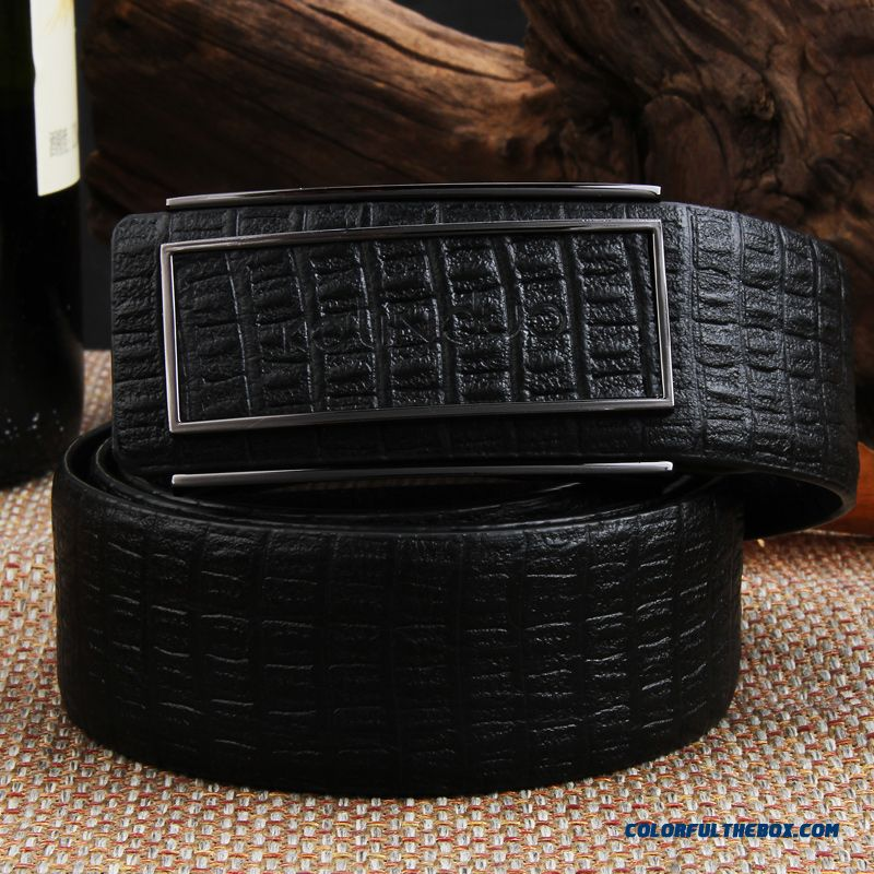 Top Newest Designe For Mature Men Sided First Layer Of Leather Belt Genuine Leather Fashion Accessories