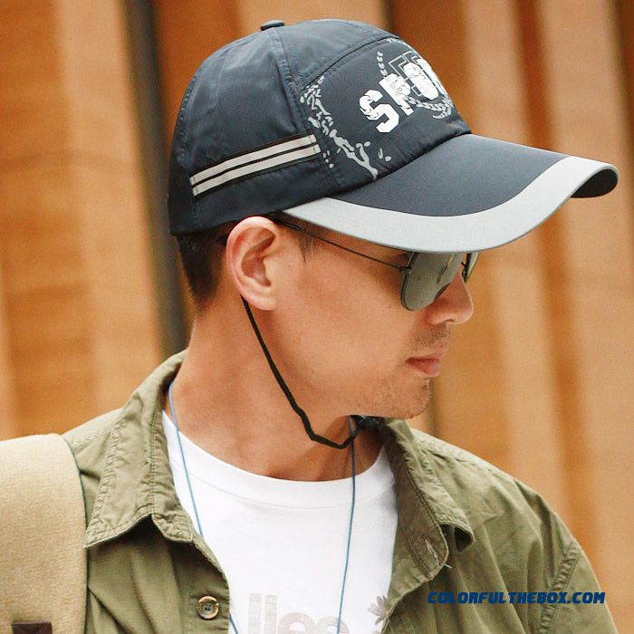 Top Quality Extended Brimmed Baseball Cap Summer Outdoor Fishing Sunscreen Sunshade Men Cap Accessories