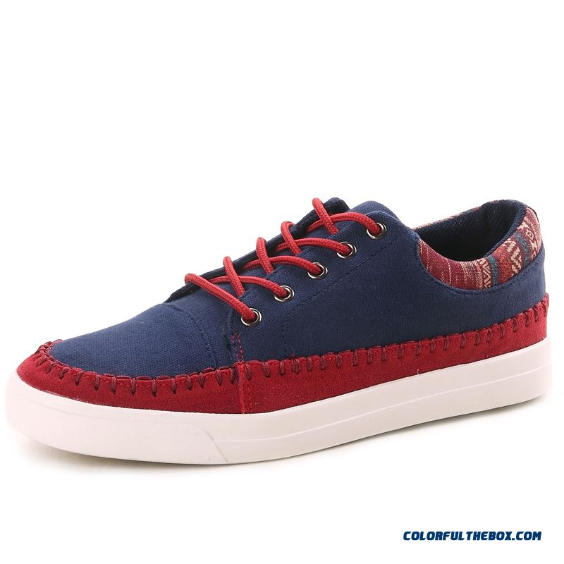Top Sale Autumn Men Casual Shoes Lace Canvas Special Offer Free Shipping