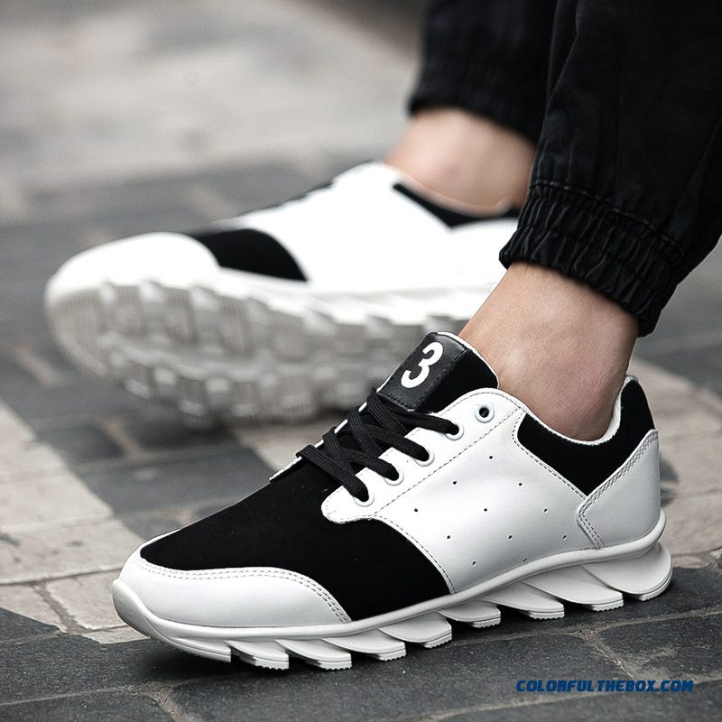 Top Sale Breathable And Comfortable Lace Men's Running Shoes - more images 1