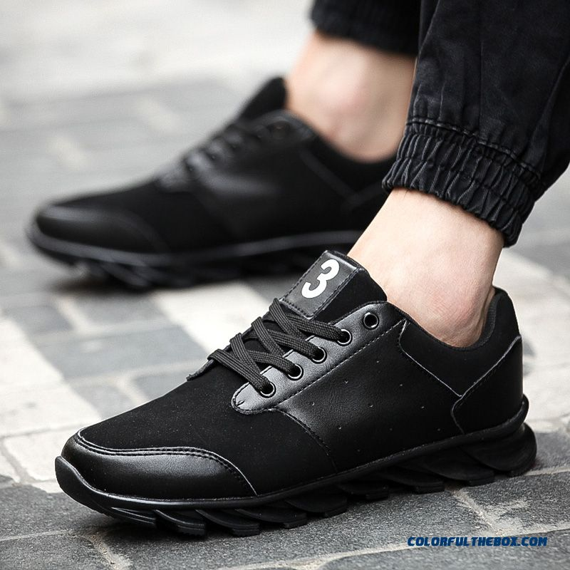 Top Sale Breathable And Comfortable Lace Men's Running Shoes - more images 3