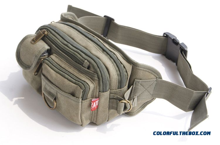 Top Sale Oxford Waist Packs Large Capacity Canvas Bag Unisex Men's Waist Packs