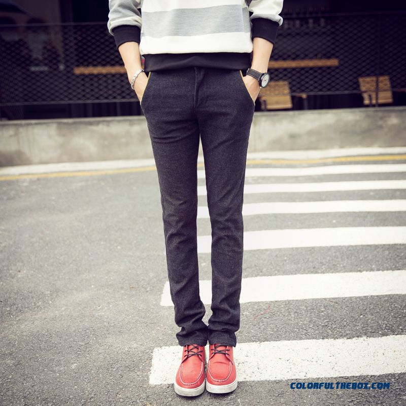 Top Selling Men's Clothing Casual Plus Xl Long Cotton Straight Pants