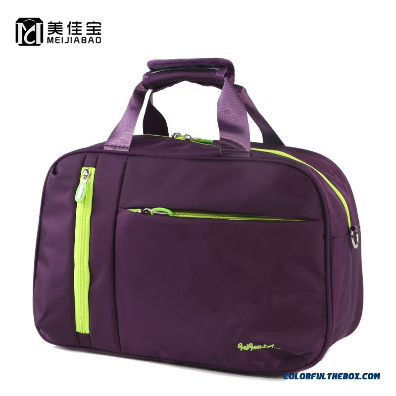 Unisex Travel Bag Men's Favorite Large Capacity Fitness Travel Bag Hit The Color Bag