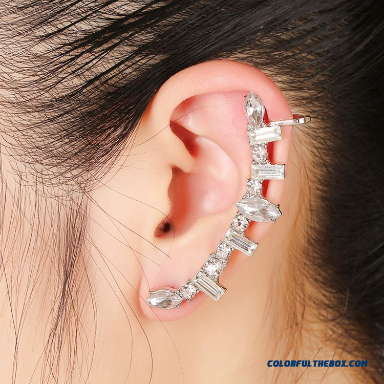 Us And European High-grade Stainless Steel Earrings Hot Specials Women Jewelry