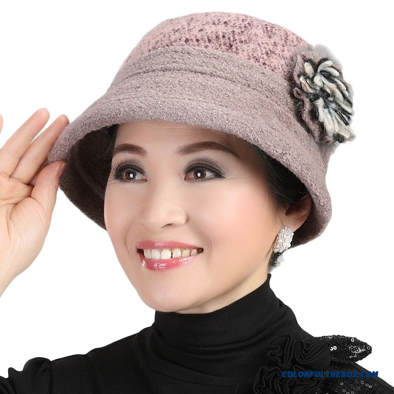 Cheap Vogue New Style Hot Sale For Old Women s Accessories Middle-aged  Milliner Berets Mom s Hats Sale Online 3c5d9188c64