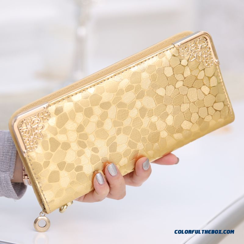 Wallet Women Long Section Lady Zipper Wallet Clutch New Women Phone Purse - more images 2