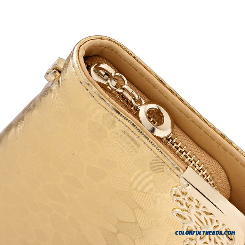 Wallet Women Long Section Lady Zipper Wallet Clutch New Women Phone Purse - more images 3