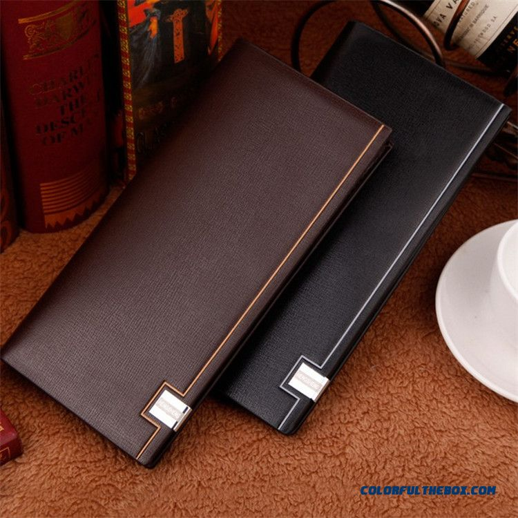 Wallets Men Genuine Leather Quality Bags Ultrathin Wallet Men's Multi-card Casual Fashion Vogue Wallets